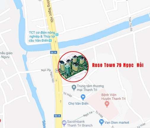 Chung cư Rose Town 79 Ngọc Hồi, Phân phối trực tiếp chủ đầu tư